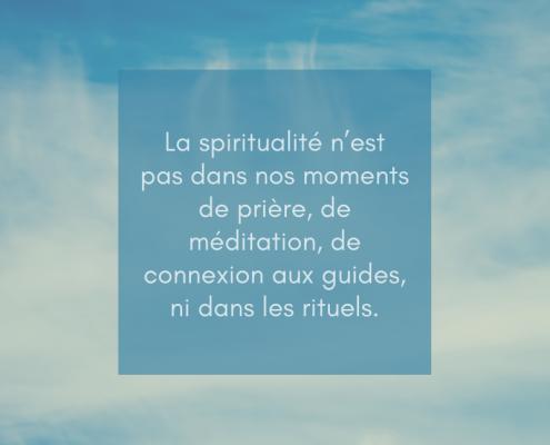 """Pourquoi """"avoir une vie spirituelle"""" est une erreur"""